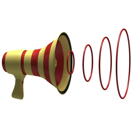 Megaphone Stock Photo - 12499364