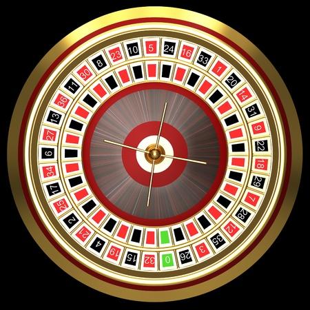 ruleta de casino: La ruleta en el casino Foto de archivo