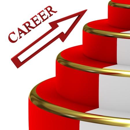 Career ladder photo