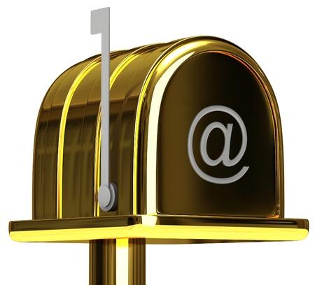 receptacle: Mail box Stock Photo