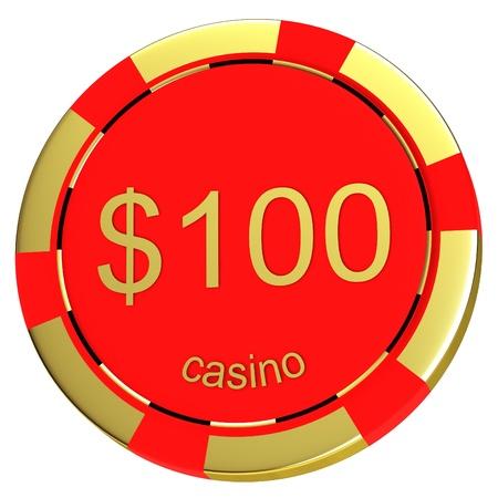 Casino chip photo