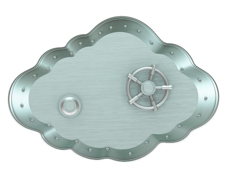 Cloud - safe box Stock Photo - 13288600