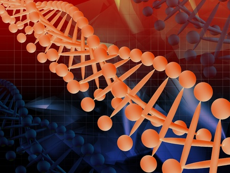 dna strand: DNA