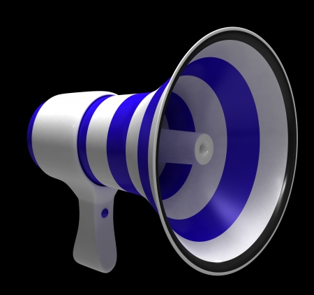 Megaphone Stock Photo - 13784647