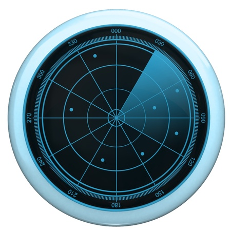 Digital Radar screen button photo