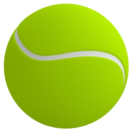 Tennis ball photo