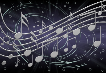 Musical notes Stock Photo - 13832998
