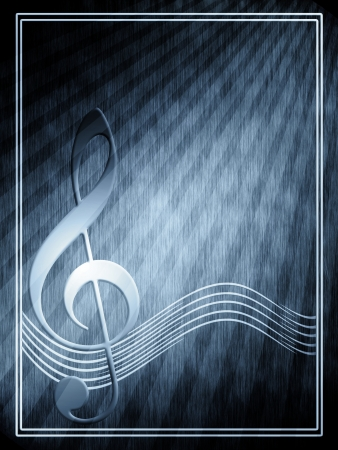 Musical notes Stock Photo - 14066900