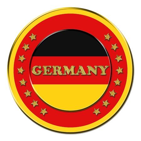 Award with the symbols of Germany photo