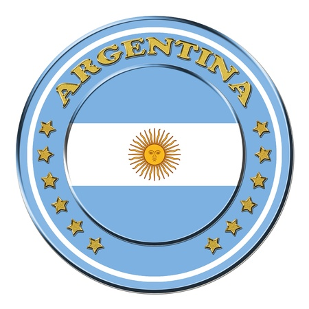 Award with the symbols of Argentina photo