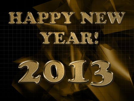 2013 year inscription on the abstract background Stock Photo - 14566181