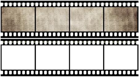 Blank film strip photo