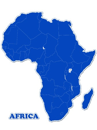 mapa de africa: ?frica mapa