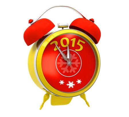 alarm clock: Yellow alarm clock 2015