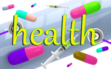 hypoglycemic: Medical background in abstract style Stock Photo