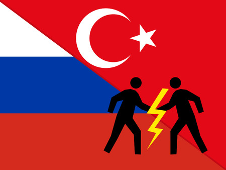 area of conflict: Relations between Russia and Turkey