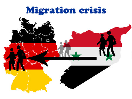 migration: Migration crisis in Germany scheme