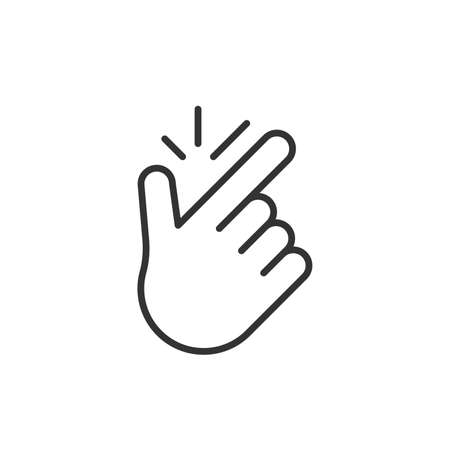 linear easy gesture icon
