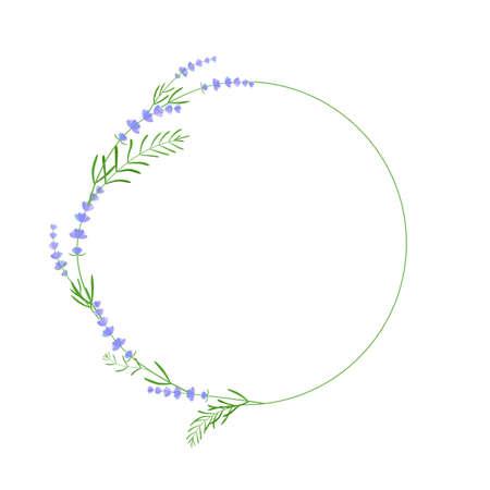 lavender semicircle frame or sticker