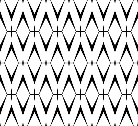 white party: Abstract black and white background, seamless  pattern