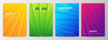 Set of minimal abstract shape on gray gradient 版權商用圖片 - 146688704