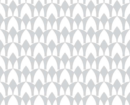 Geometric seamless pattern on a white background. Background design in flat style.