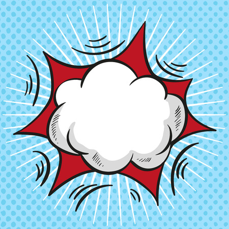Comic Speech Bubble, Cartoon cloud