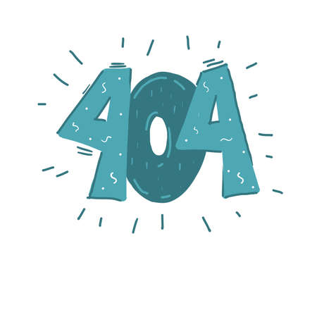 Design 404 error. Vector concept illustration for page 404. Template for web page with 404 error. Cartoon style