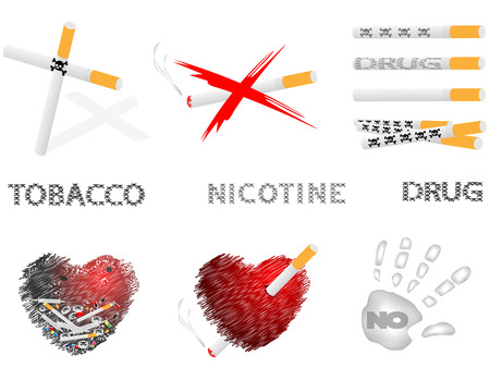 dangerously: Collection of pictures with the image cigarettes,hearts,inscriptions