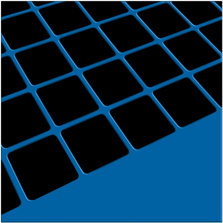 Abstract background executed from a tile of black color