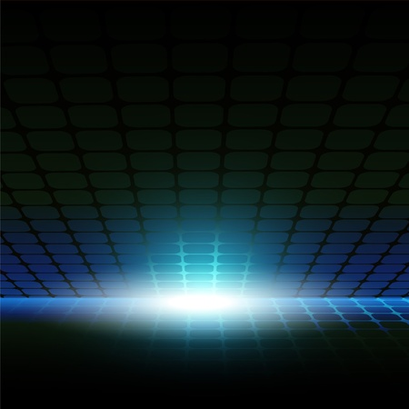 flash light: Abstract background with the image of grid and flash