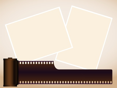 The cartridge for a film and pictures Stock Vector - 9143836