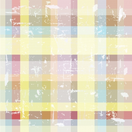 abstract background composed of overlapping colored stripes Illustration