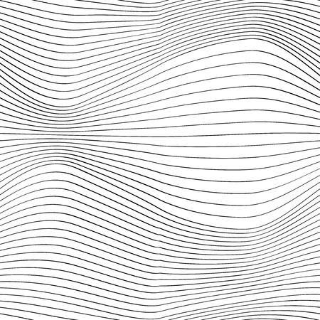 Thin line waves, elegant optical design, vector