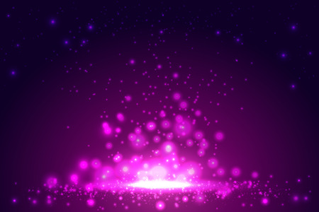 Pink backgroundwith bokeh, shiny abstract, vector