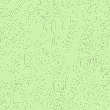 Topographic map, colorful and fun lines, vector