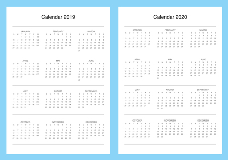 Planner kit, template pages, vector