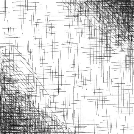 Hand drawn background, hatch art design, vector