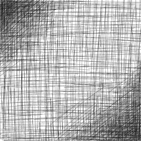 Hand drawn background, hatch art design, vector Çizim