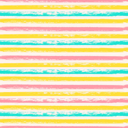 Texture striped seamless colorful pattern. Summer background. Holiday backdrop. Vector illustration. For fabric textile, print for clothes, bag, wallpaper, packaging. 矢量图像