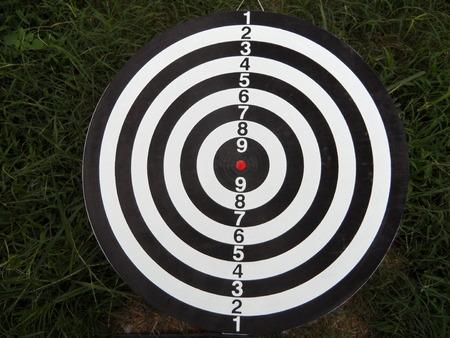 Shooting Target Banco de Imagens
