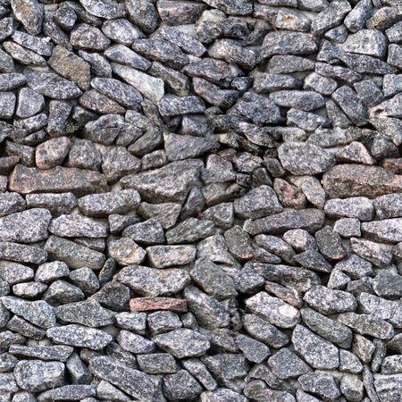 Mosaic texture of granite stones
