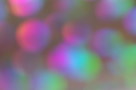 exuberance: Soft bokeh with bright rainbow colors suitable for background, screen or wallpaper  Suitable for text   copy  Christmas  Web
