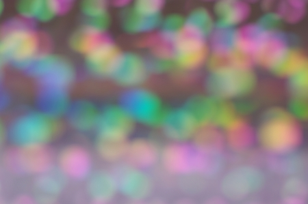 Soft glitter bokeh with rainbow colours suitable for background, screen or wallpaper  Suitable for text   copy  Christmas  Stock Photo