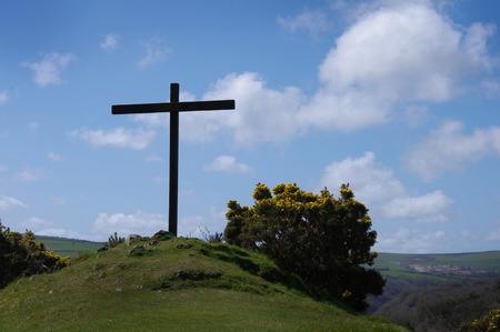 High Cross, Ffald-y-Brenin Christian Retreat Centre