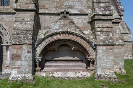 thomas stone: Tomb of Thomas Bowater Vernon, Hanbury Church