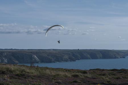 Paragliding at St Agnes