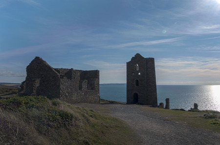 tin: Wheal Coates tin mine Stock Photo