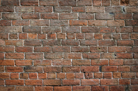 tudor: Background image of old Tudor brick wall. Stock Photo