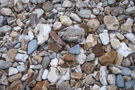 jurassic coast: Pebbles on Jurassic coast